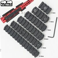 3,5,7,9,11,13slots keymod Rail Section Picatinny/Weaver Aluminum Mount Black