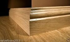 LIGHT OAK LAMINATE SKIRTING BOARDS 2.4M - Unbeatable value! BEST SELLER