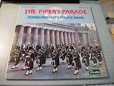 The Piper's Parade Edinburgh City Police Band~NM Vinyl~Bagpipes~FAST SHIPPING!!!