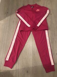 Nike Pink Tracksuit Size 12-13