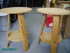 2 x Side tables - bedside tables occasional tables  710mm Height x 530mm Diam