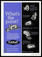 1966 CAPAC Of Fond Du Lac Wisconsin Wells Mfg Heavy Duty Ignition Parts Print Ad