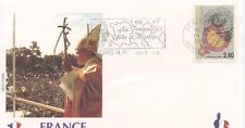 ENVELOPPE VISITE DU PAPE JEAN PAUL II / FRANCE / TOURS  1996
