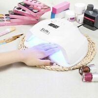 SunX 54W UV LED Nail Lamp Light Nail Dryer Gel Polish Curing Nail Art Machine