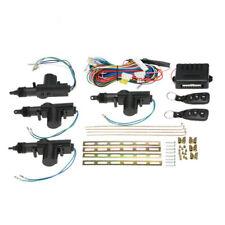 Car Central 12V Power Door Lock & Unlock Remote Kit Keyless Entry For 2/4 Door