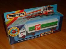 MATCHBOX SUPERKINGS K-124 MERCEDES BENZ REFRIGERATION TRUCK MIT OVP !!!