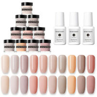 NICOLE DIARY 10g Dipping Nail Powder  Color Acrylic Tips Nail Art Quick Dry DIY