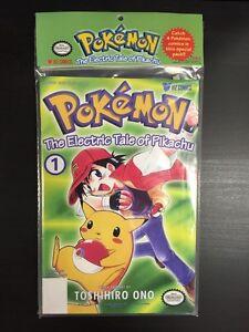 Pokemon Electric Tale Of Pikachu Comic 1-4 Viz Sealed New Vintage