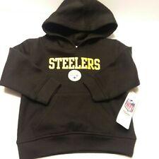NWT NFL Pittsburgh Steelers Hoodie Sweatshirt Toddler 2T Cotton Blend Kids