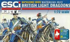 BRITISH LIGHT DRAGOONS - WATERLOO 1815 (12 FIGURES) 1/72 ESCI ERTL RARE!