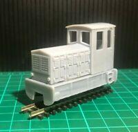 OO9 009 Diesel Shunter Body For KATO 109