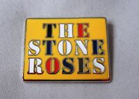 The Stone Roses Enamel Badge.Ian Brown,Primal Scream,Oasis,Madchester,Tickets.