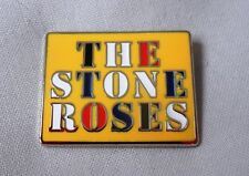 Stone Roses 2016 Enamel Badge.Ian Brown,Primal Scream,Oasis,Madchester,Tickets.