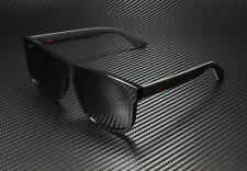 GUCCI GG0010S 001 Rectangular Square Black Grey 58 mm Men's Sunglasses