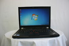 "Laptop Lenovo Thinkpad T420 14.1"" i5 2.5GHZ 4GB 500GB Webcam Windows 7 GRADE B"