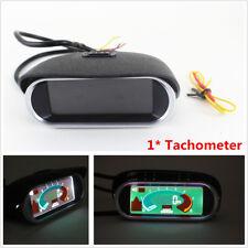 12V Car Boat SUV Truck LCD Digital Tacho Tachometer Gauge 50~9999 RPM Horizontal