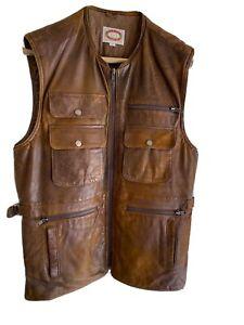 Vintage Banana Republic Leather Vest