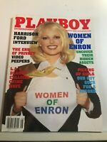 PLAYBOY MAGAZINE AUGUST   2002  WOMEN OF ENRON   HAS CF