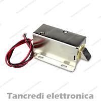 Elettroserratura 12V DC solenoide calamita elettro serratura magnete
