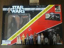 LEGACY PACK EARLY BIRD SPECIAL STAR WARS BLACK SERIES 40 ANNIVERSARY DARTH VADER