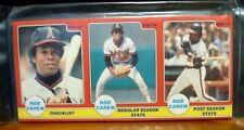 1986 Rod Carew Star Co Baseball Set - 24 Cards - Angels - Twins - HOF -Sealed