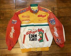 Terry Labonte #5 Kellogs Racing Race Jacket Mens Large NASCAR 50th Ann. 1998