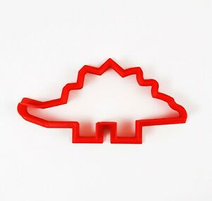 Stegosaurus Dinosaur Cookie Cutter 3D Printed Gadget Baking Animal Kids Party