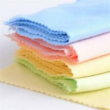 10x Microfibre Cleaning Cloths For Glasses Spectacle Lens Camera Mobile Phone ZX
