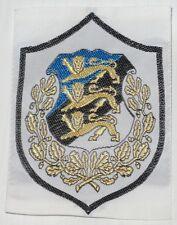 1980s REPUBLIC OF ESTONIA, COAT OF ARMS, BADGE PATCH CHEVRON