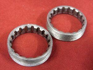 "Vintage Phil Wood Sealed Bottom Bracket Steel Rings English 1.37"" x 24"
