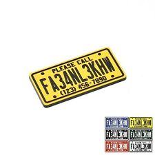 FAA UAS Registration Numbers, Engraved, License Plate,16mm x 32mm,