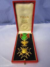 Belgium / Belgian Military Cross 1st Class w/ Box ~ 1914 Decoration Award Order