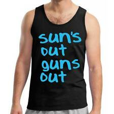 Suns Out Guns Out Singlet Tank Top 22 Jump St Street Inspired Sun's 21 Gym New