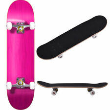 """Blank Complete Skateboard Stained RED 7.75"""" Skateboards, Ready to ride Red"""