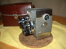 Yashica 8 E-III 8mm three lens turret  vintage  movie camera