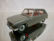 DINKY TOYS FRANCE 537 RENAULT R 16 R16 - GREY METALLIC 1:43 - GOOD CONDITION