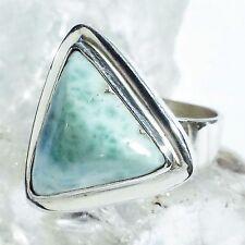 LARIMAR ATLANTIS 6 Ring ECHT 925 Silber Blue Unique Unikat
