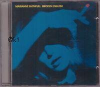 Marianne Faithfull . broken english . CD 1979 . the ballad of Lucy Jordan