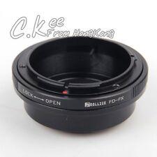 Canon FD Lens to Fujifilm X FX Adapter For X-Pro1 X-E1 X-E2 X-M1 X-A1 X-A2