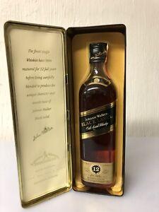Johnnie Walker Black Label Extra Special Old Scotch Whisky 70cl 40% Vol Tim Box