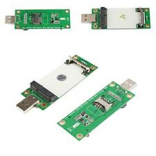 Pro Mini PCI-E Wireless WWAN Card to USB Adapter Card with SIM Card Slot