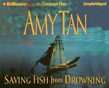 AMY TAN + Saving Fish from Drowning + AUDIOBOOK + NEW on CD!