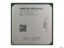 AMD A4-3300  2.5 GHz dual core Socket FM1 A4-Series CPU AD3300OJZ22HX  1MB cache