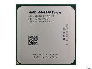 AMD A4-3300  2.5 GHz dual core Socket FM1 A4-Series CPU AD3300OJZ22HX  1MB cache