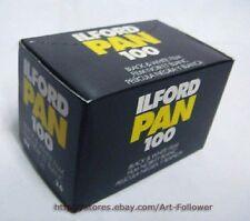 10 Rolls  Ilford Pan 100ISO Black&White 135 Film 35MM 36exp B&W Fresh 2020 ~