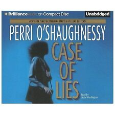 CASE OF LIES unabridged audio book on CD by PERRI O'SHAUGHNESSY (11 Hours)