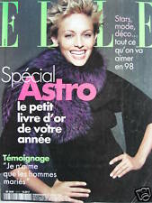 BERI SMITHER 1/98 French Elle Magazines ANOUK GRINBERG