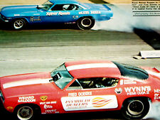 1968 Chevy Corvair-Blue Hell Funny Car/Ronnie Runyon-print/poster-1966- 1967-1969