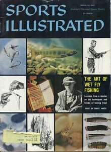 Sports Illustrated Magazine March 28, 1960 The Art of Wet Fly Fishing