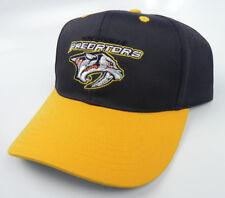 NASHVILLE PREDATORS NHL SNAPBACK 2-TONE NAVY/GOLD ADJUSTABLE TWILL CAP HAT NEW!